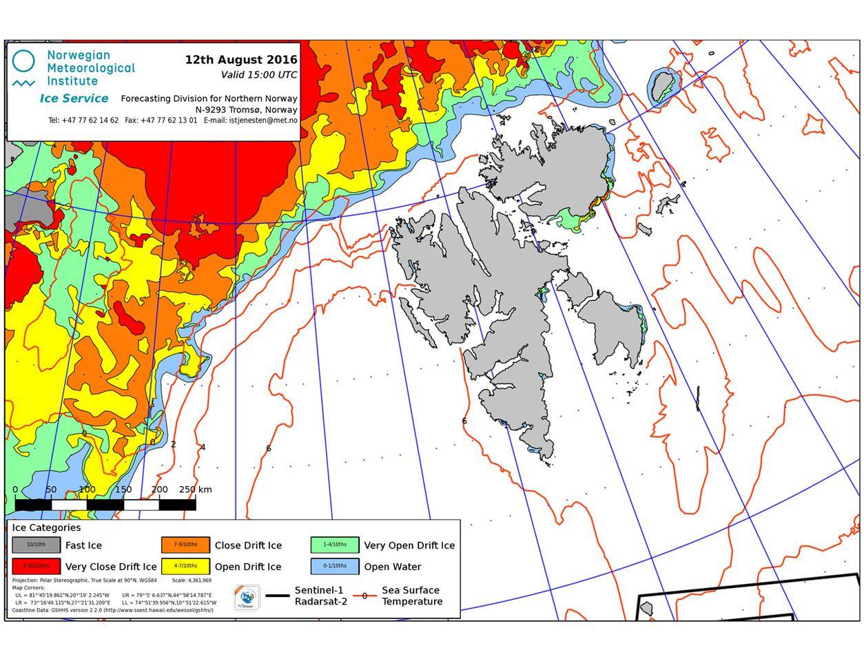 Eisfreies Spitzbergen