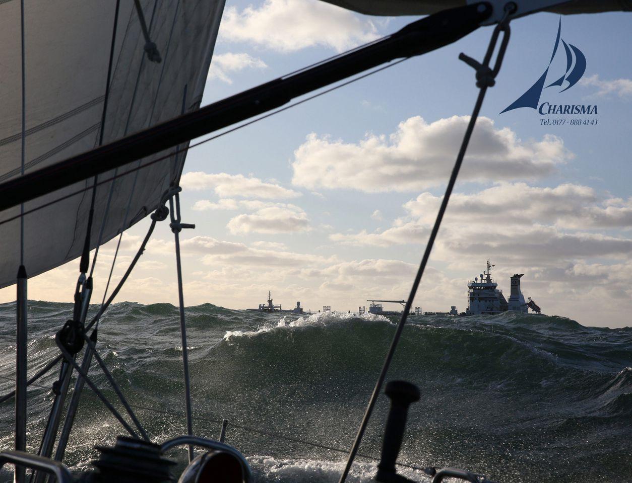 Seegang Nordsee