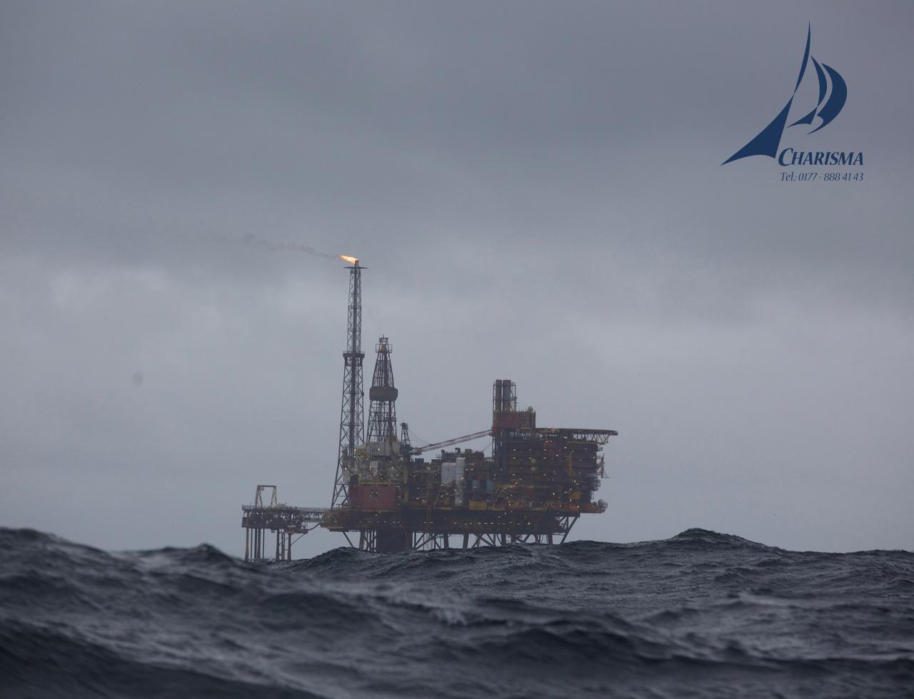 Ölplattform Nordsee
