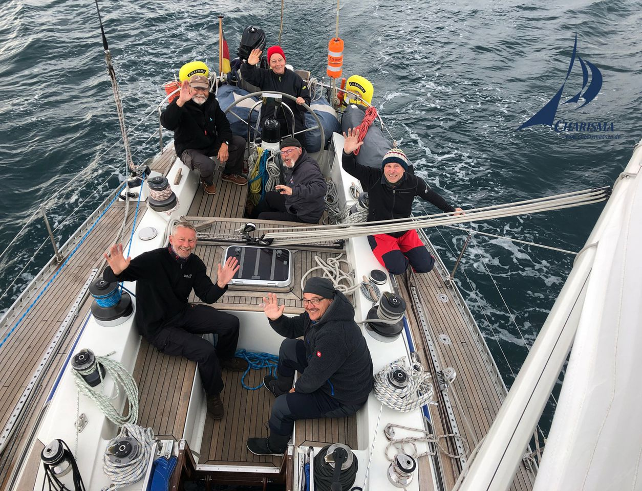Start zur Nordmeerquerung