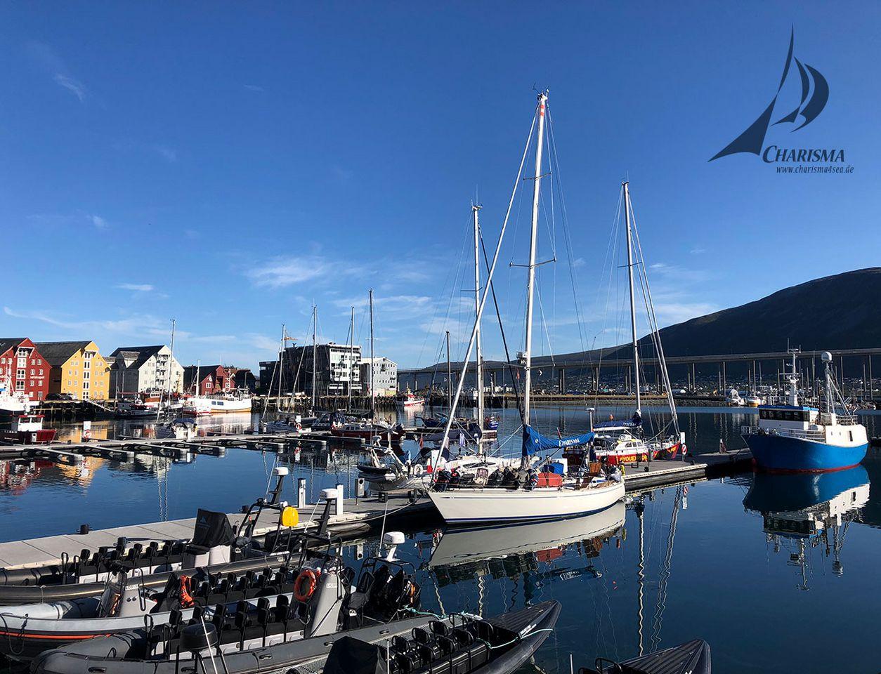 Segeln Lofoten, Hafen Tromsø