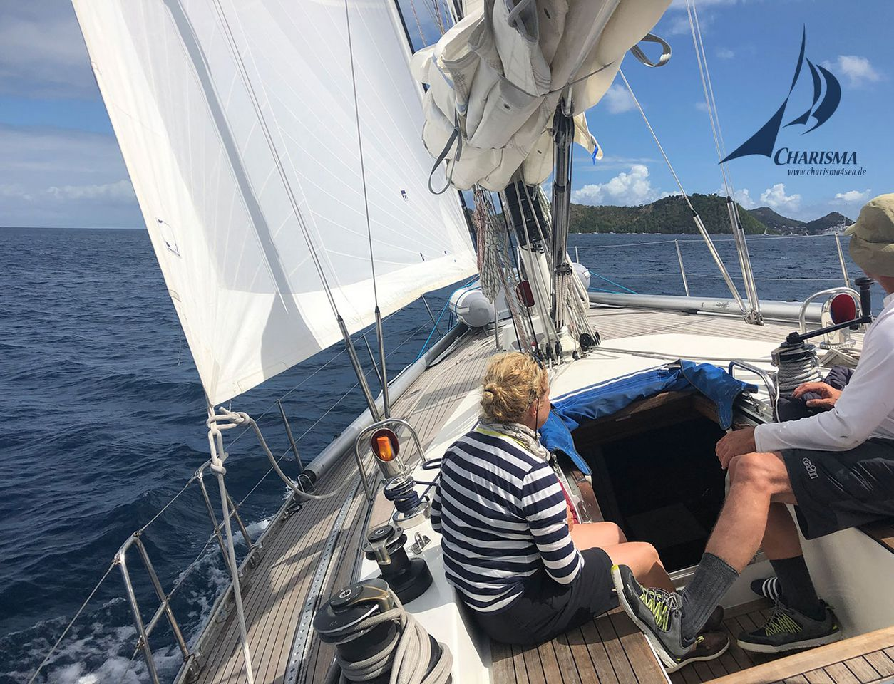 Segeln zu den Iles des Saintes