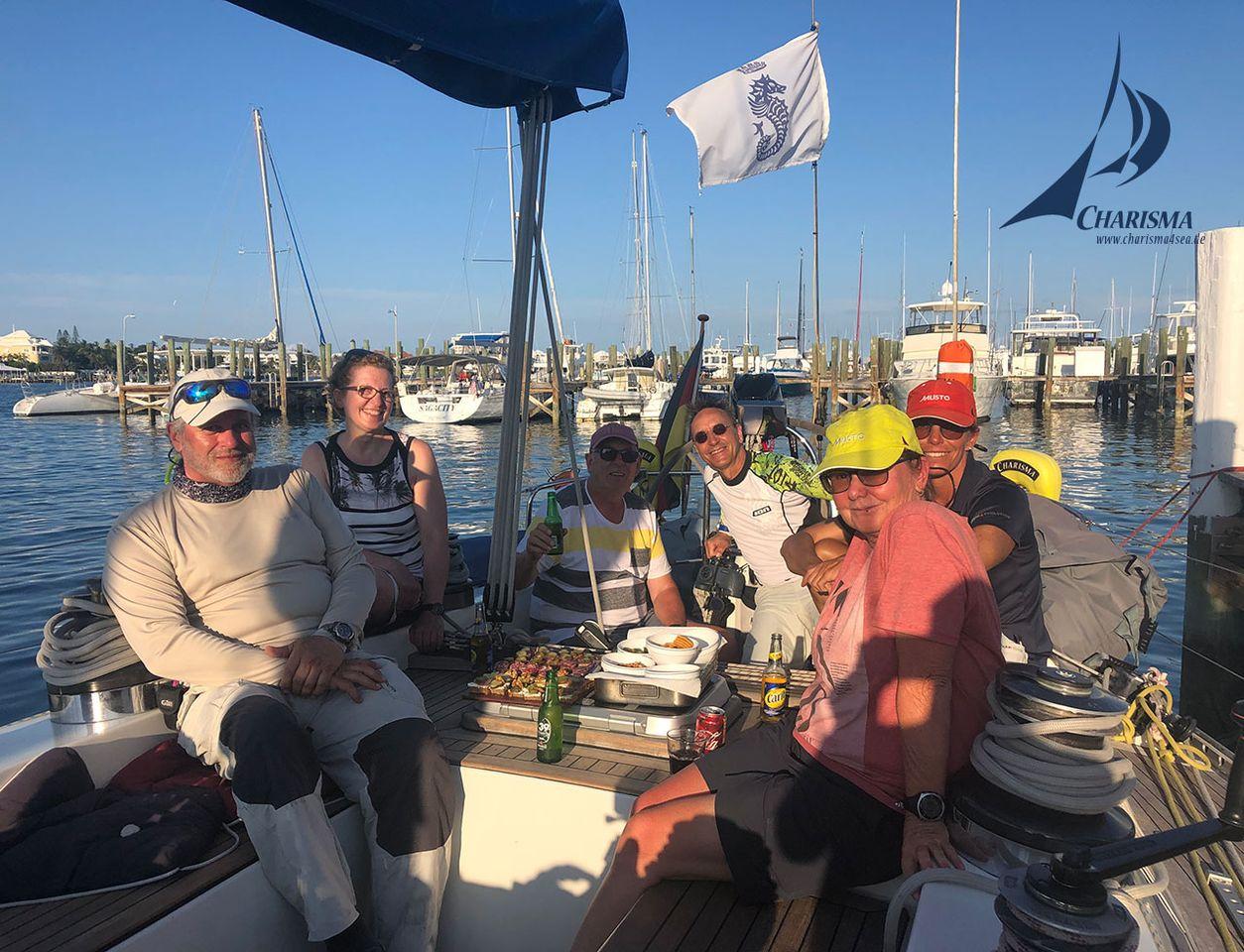 SY Charims im Nassau Yacht Haven