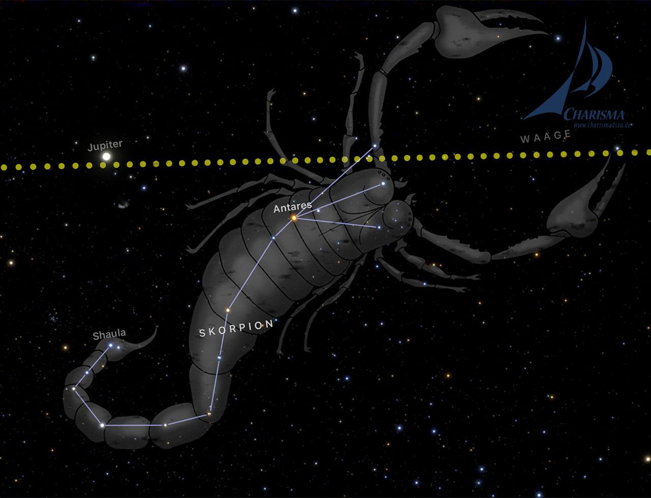 Sternenbild des Scorpions