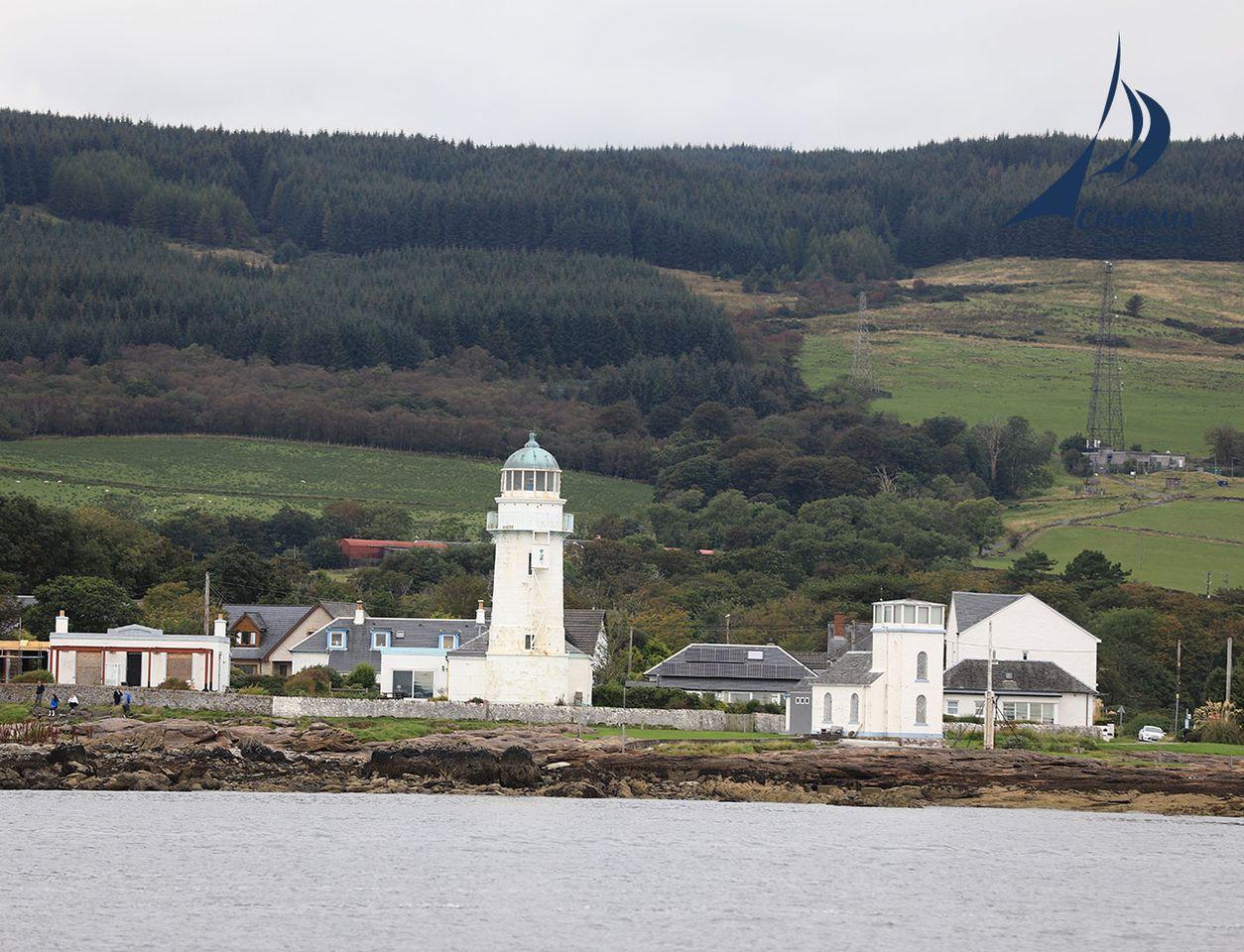 Lighthouse Toward Point