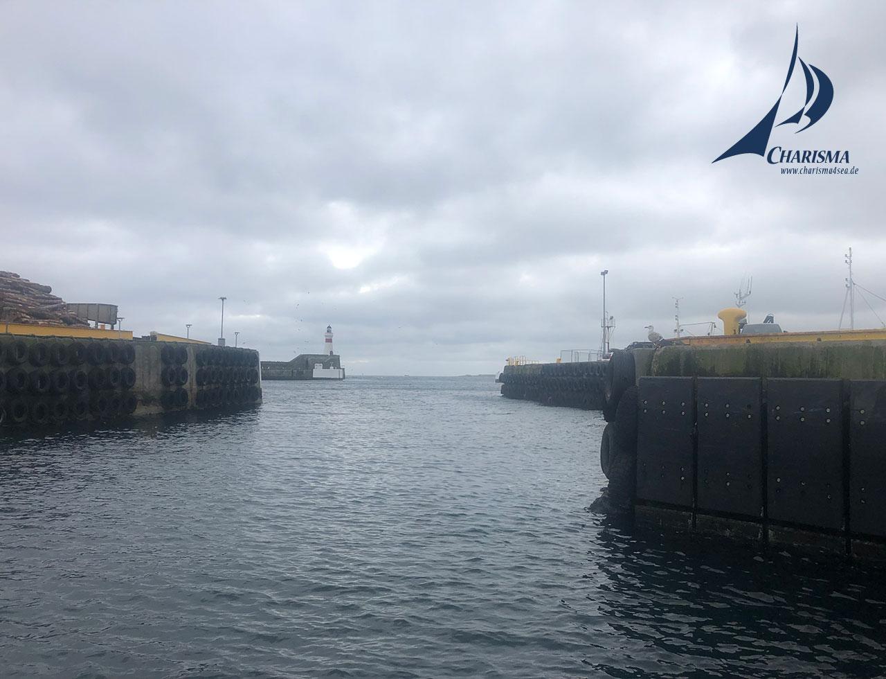 Hafenausfahrt Fraserburgh