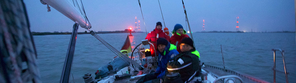 Schwerwettertraining - Kurs Nordsee