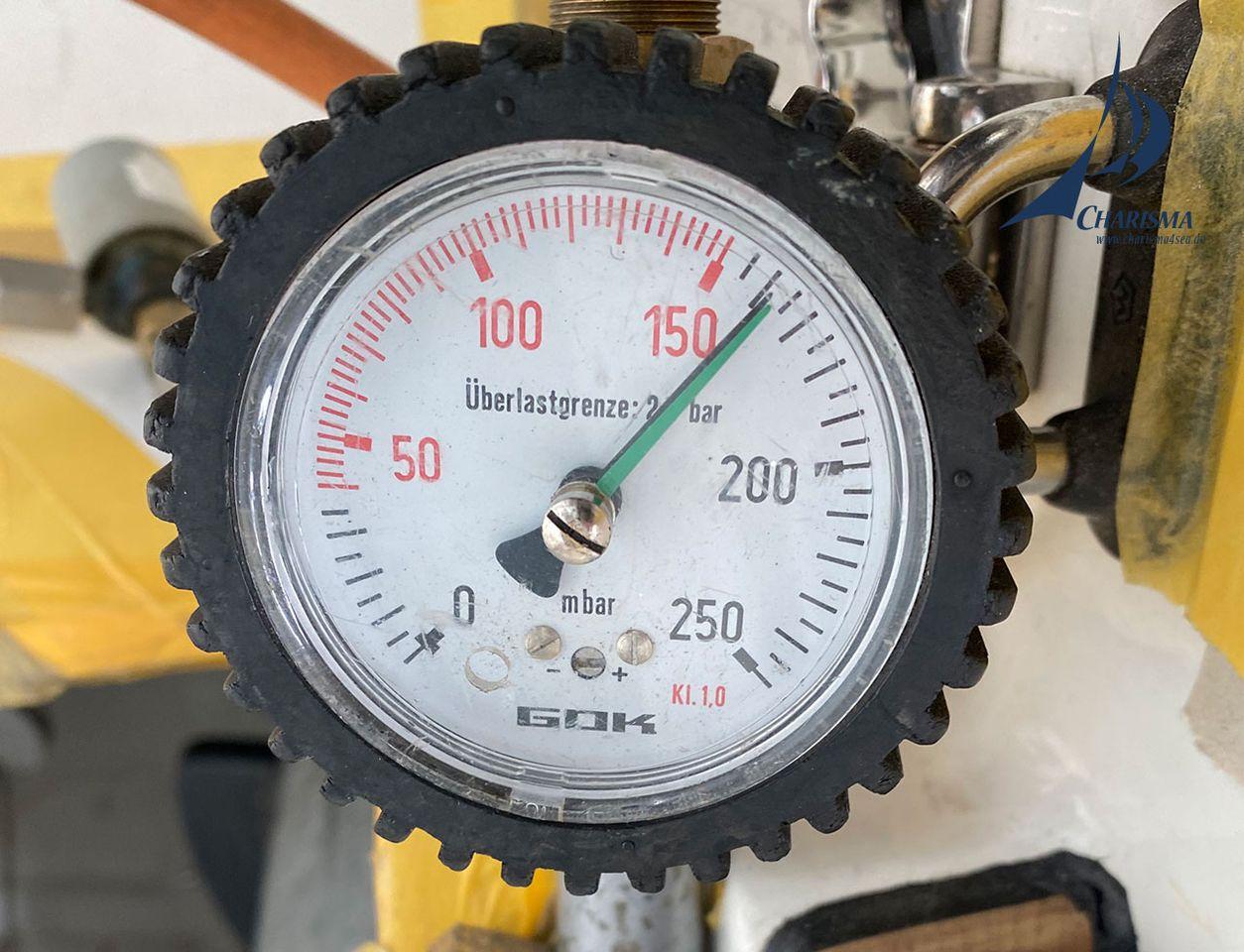 Prüfung der Gasanlage