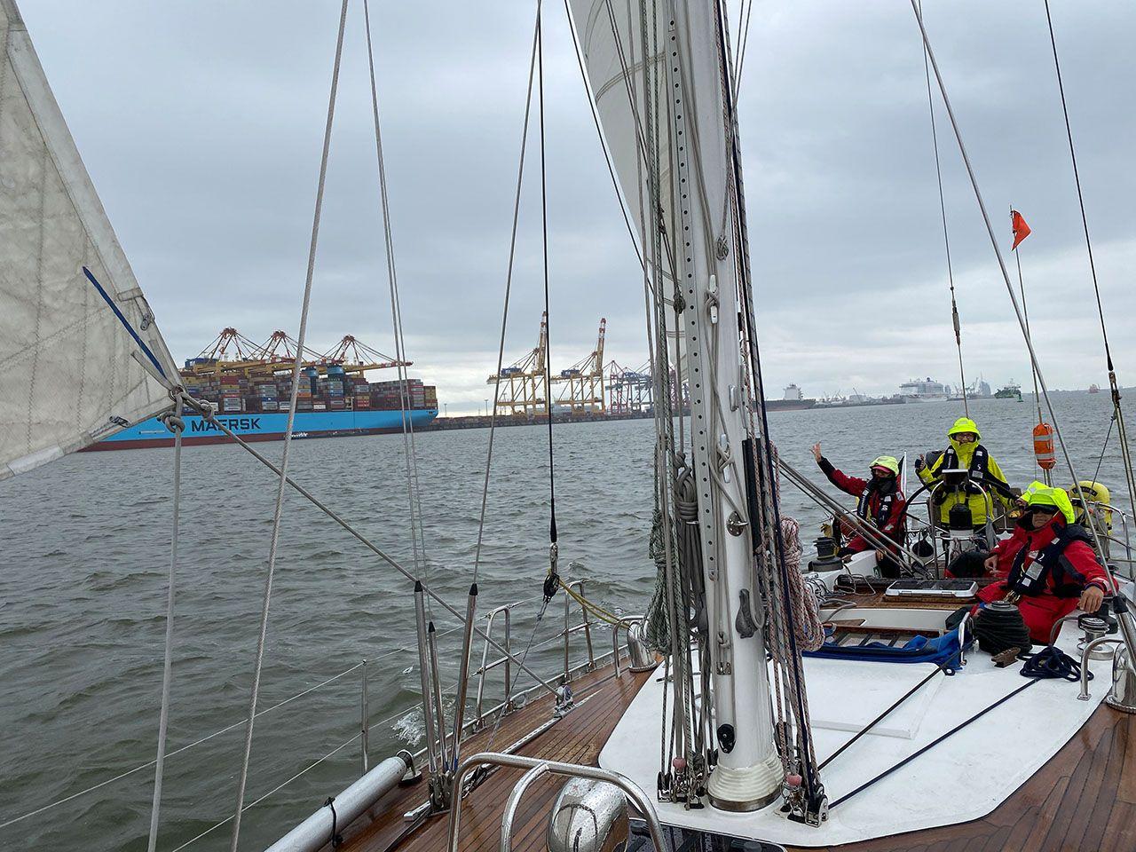 Bremerhaven im Kielwasser