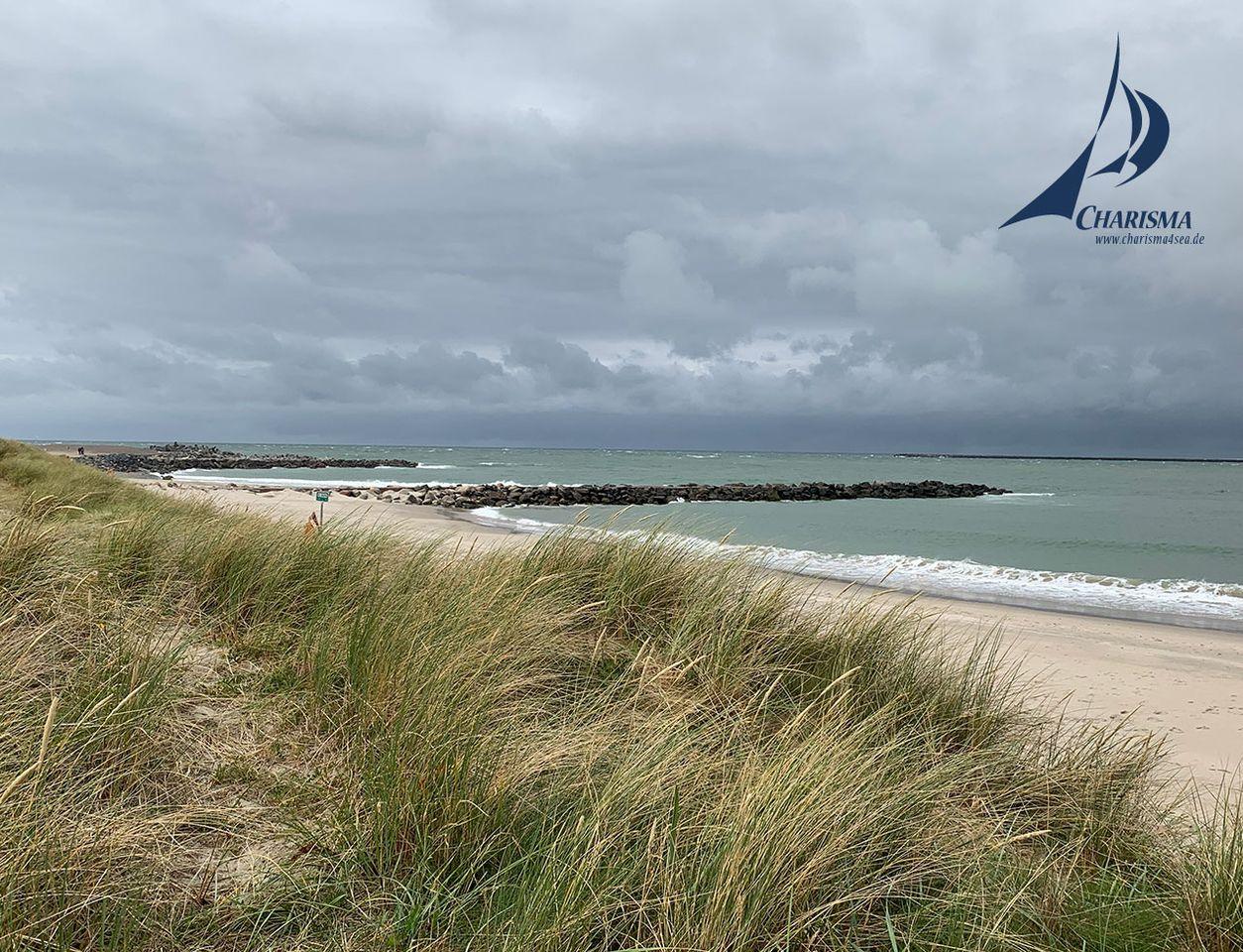 Am Strand von Thyborøn