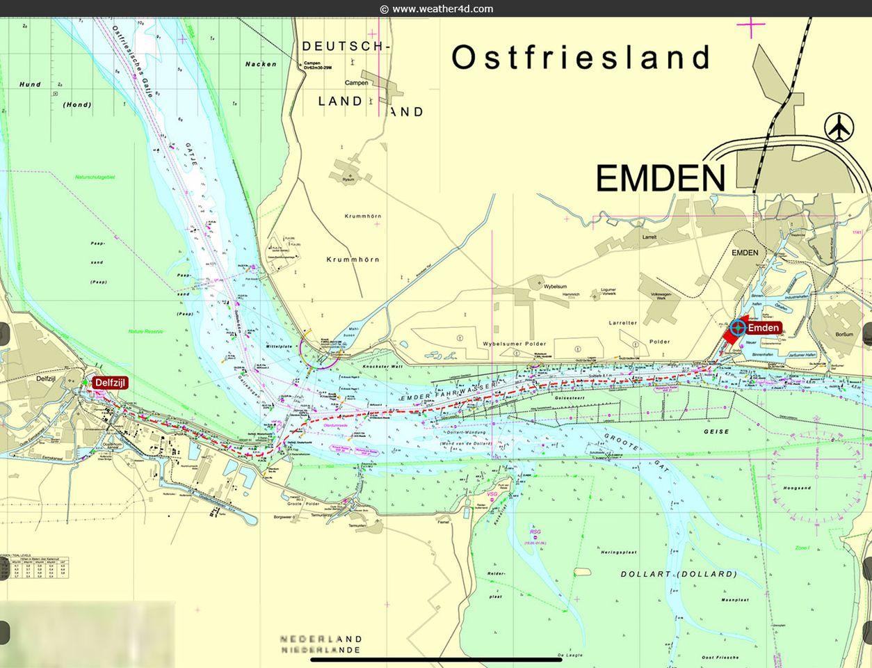 Delfzijl - Emden