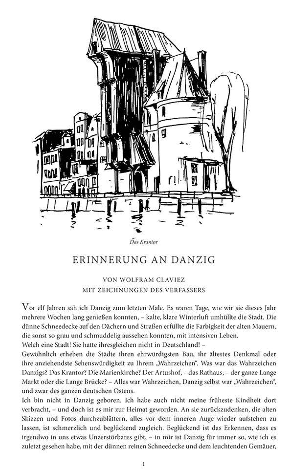 Erinnerungen an Danzig