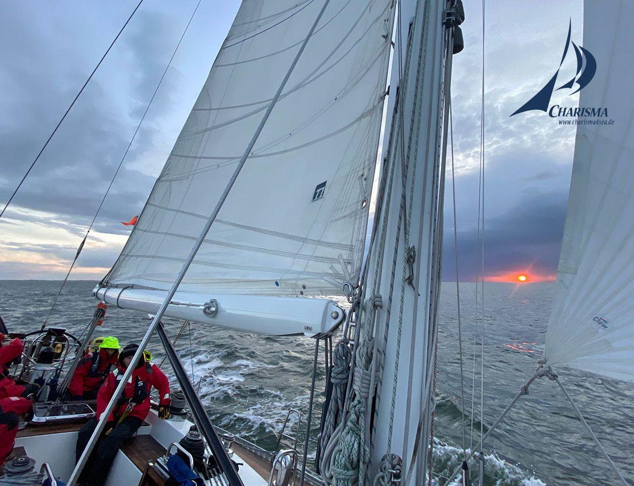 Morgenstimmung über dem Wattenmeer