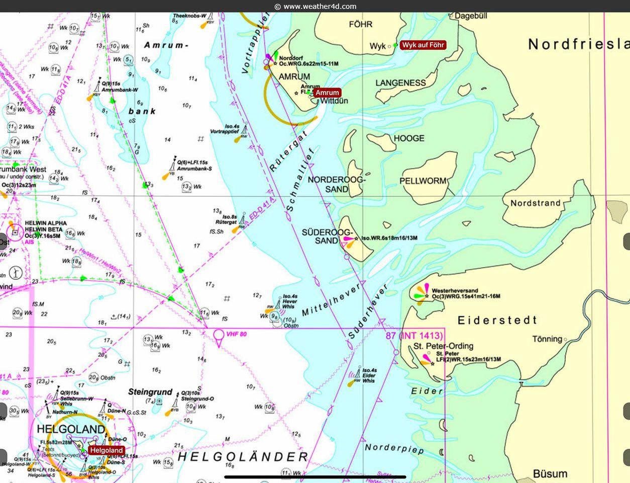 Helgoland - Föhr
