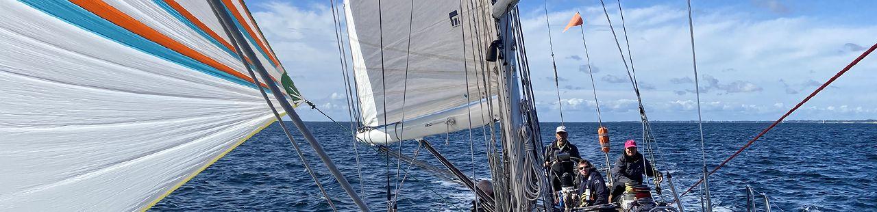 Segeln rund Dänemark