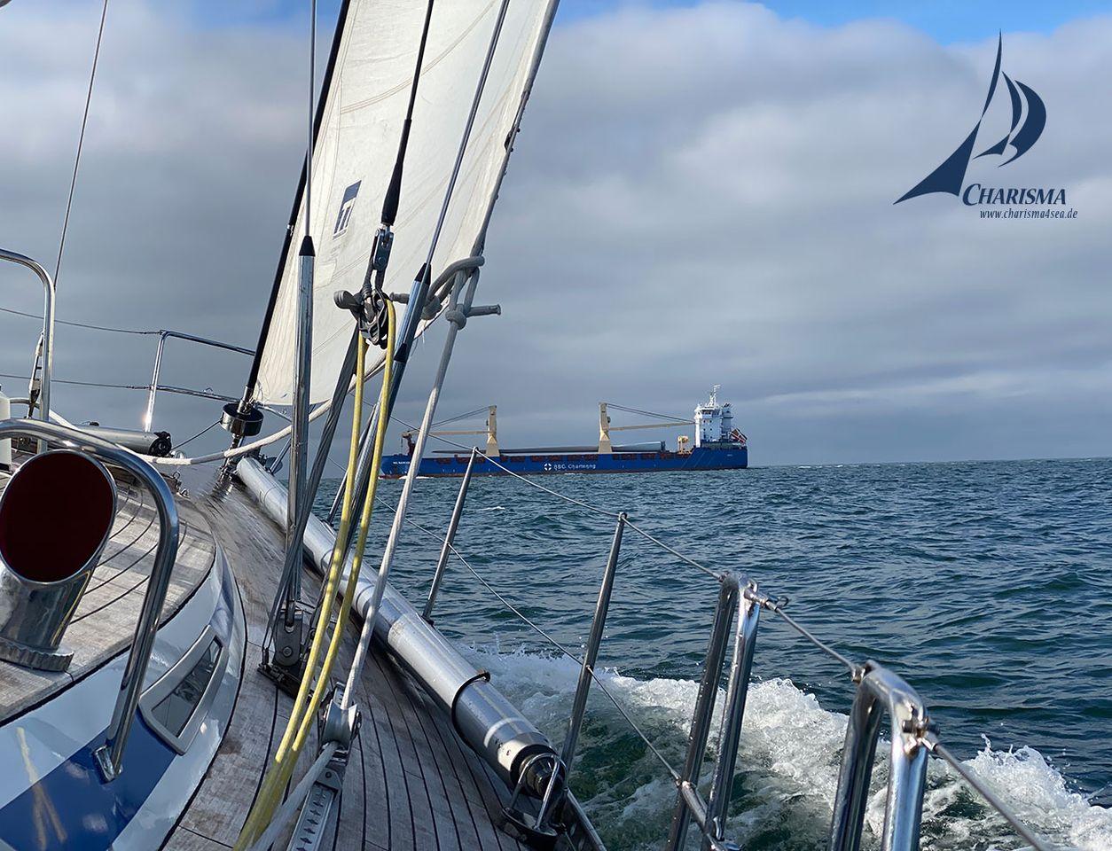 Schiffsverkehr bei Horns Rev
