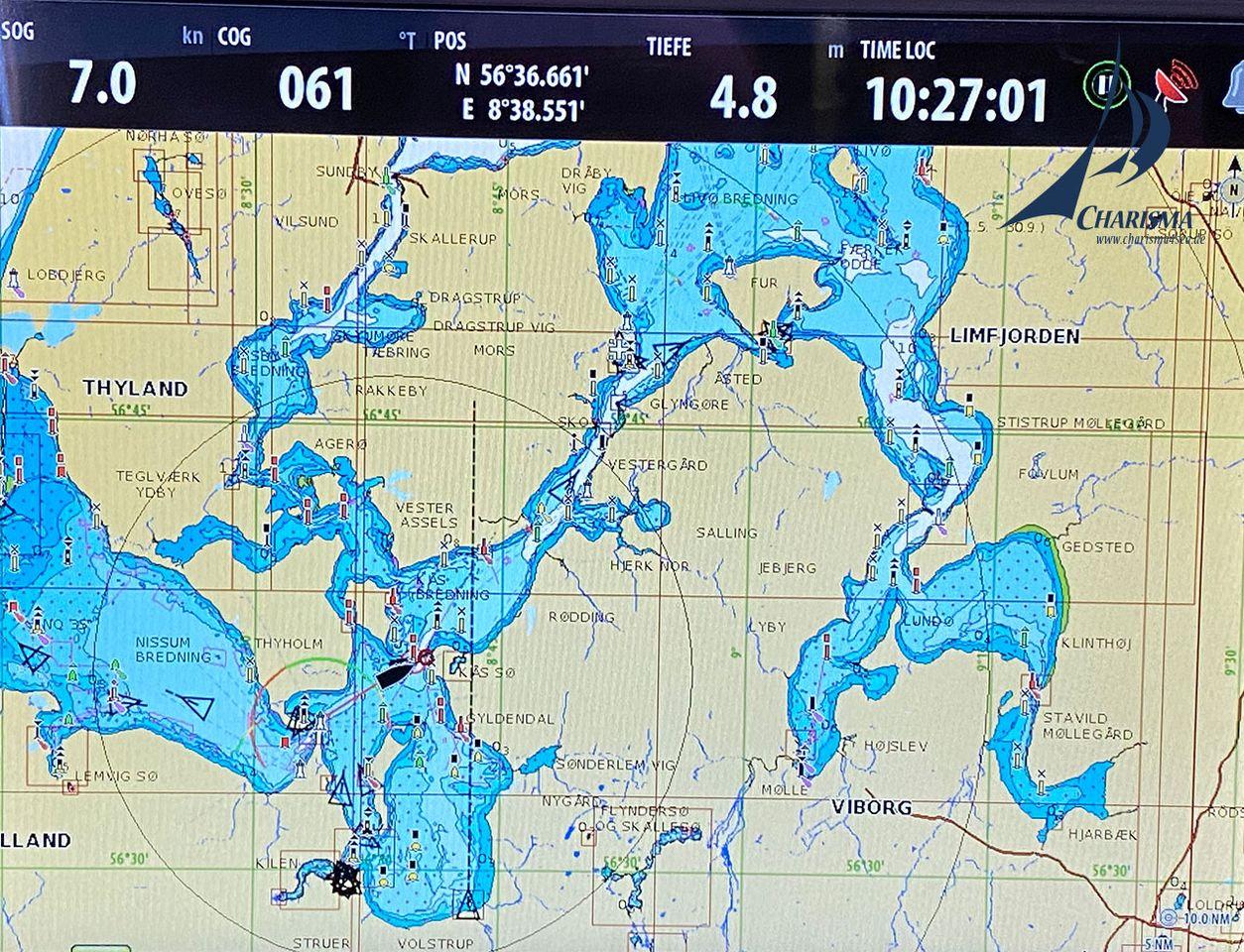 Limfjord von West nach Ost