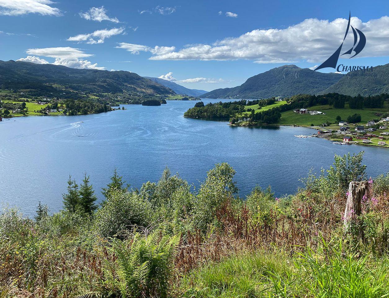Norwegische Fjordlandschaft