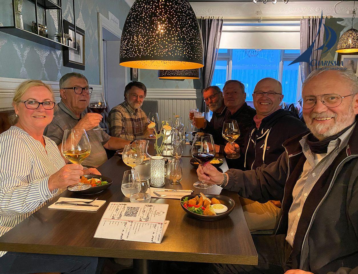 Friends-of CHARISMA im Restaurant Compagniet