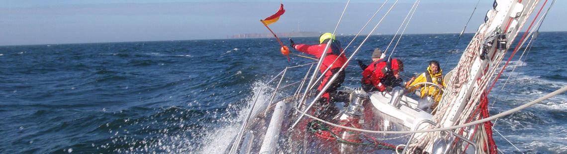 Schwerwettertraining Nordsee