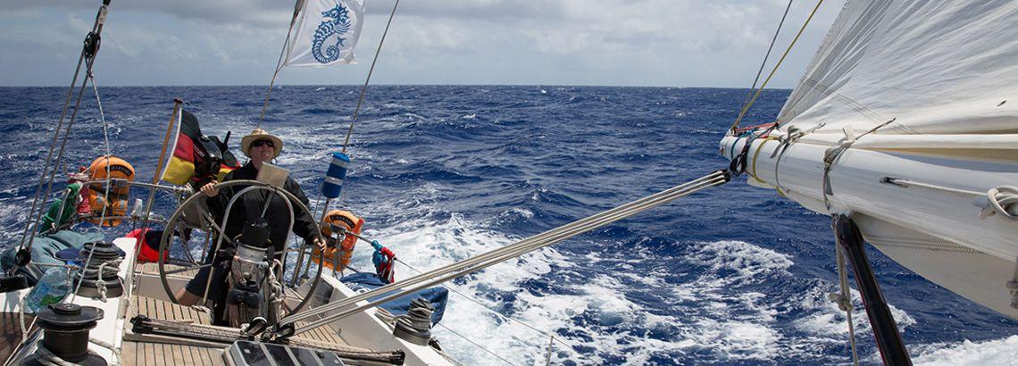 Hochseesegelb Karibik
