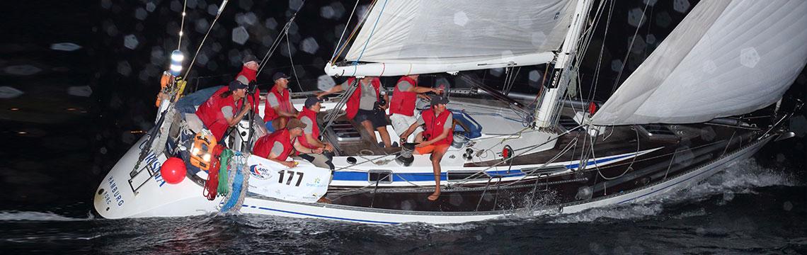 Sportlich segeln im Team