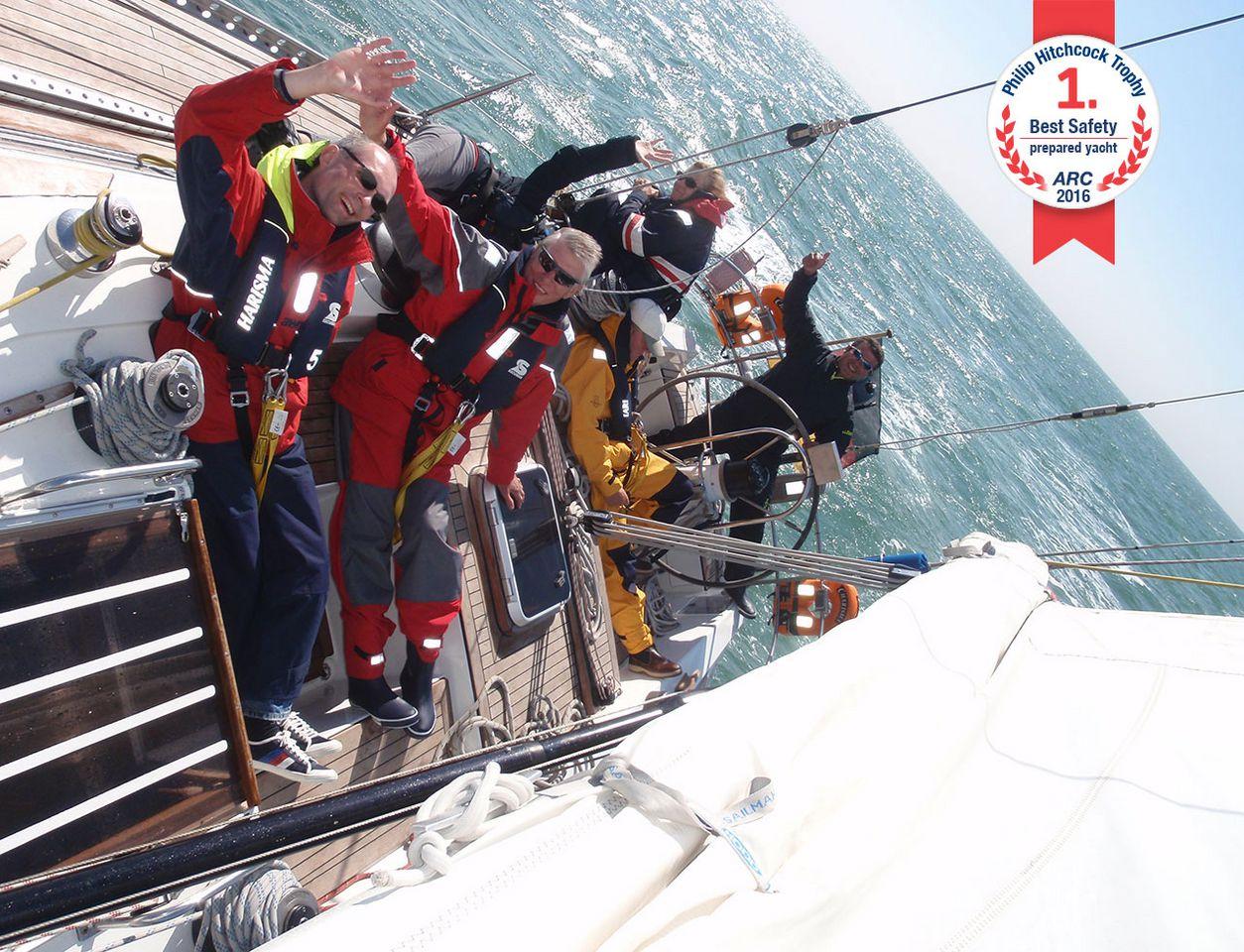 segeltraining englischer kanal mit charisma4sea