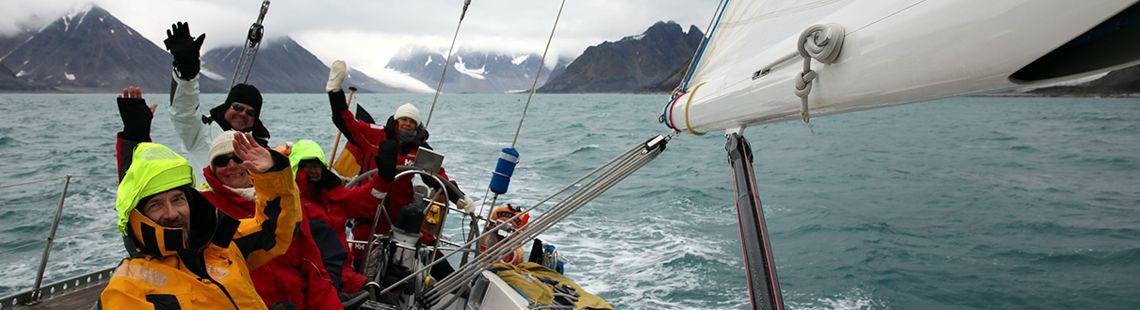 Segeltörn rund Spitzbergen