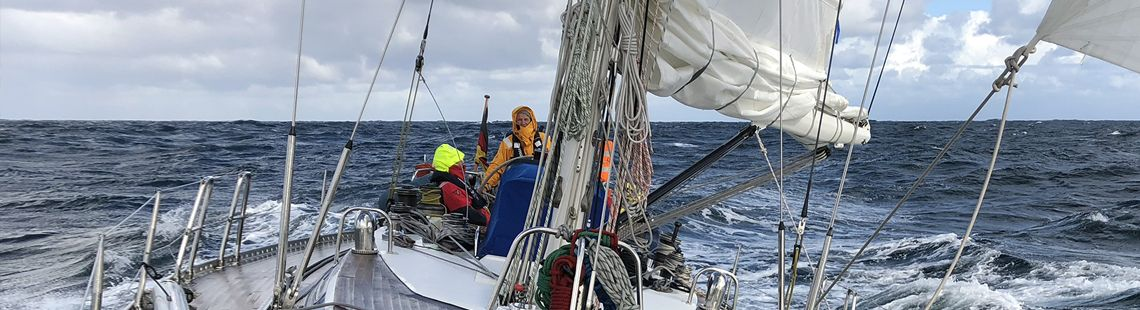 Segeltörn Norwege Nordsee