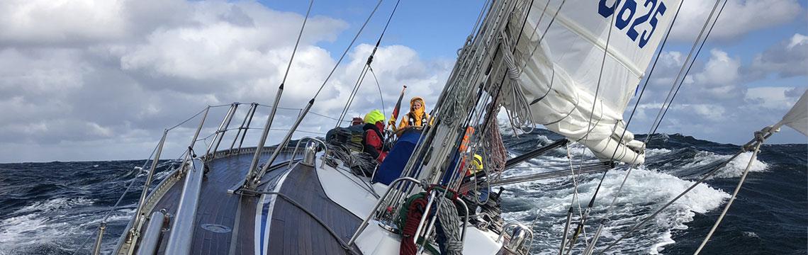 Segeltörn Nordsee im Herbst 2021